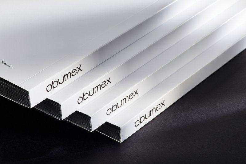Obumex Zwitserse binding en kleur op snede