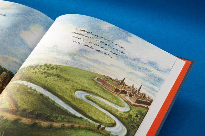 Boek: De Maneblussers, illustraties