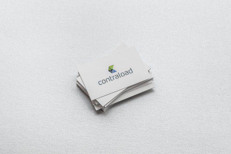 naamkaartjes met 3D varnish voor Contraload