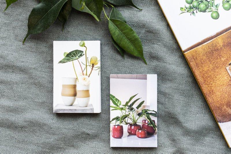 Naamkaartjes in de huisstijl van D&M Depot